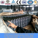 Aluminiumzink-überzogenes gewölbtes Stahlblech