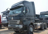 420HP Sinotruk HOWO A7 Tractor Hoofd6x4