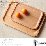 果物と野菜Wholesale_LのためのHongdaoのカスタム木の皿