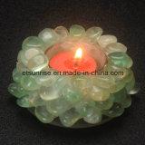 Suporte de vela de cristal Amethyst da pedra Semi preciosa