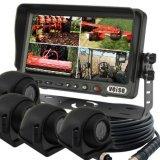 Système d'appareil-photo de moniteur de quadruple pour l'autobus, camion, tracteur (DF-76705104)