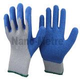 De Palm van Nmsafety en de Thumber Met een laag bedekte Handschoen van het Latex