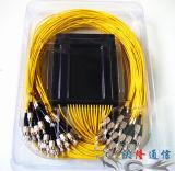 1X64 FC Upc Fiber Optic PLC Splitter
