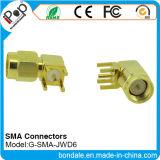 Conetor coaxial dos conetores de SMA Jwd600 para conetores de SMA