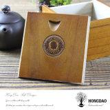Bois en bois de bambou de caisse d'emballage de montre de Hongdao