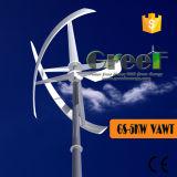 Turbina Darrieus 5000W Tipo vertical de viento con el controlador y el convertidor