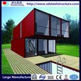 좋은 공기 침투성 경제 모듈 강철 구조물 조립식 호화스러운 콘테이너 집