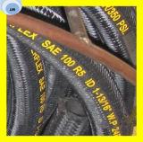 La tessile della treccia del collegare R5 di SAE 100 di alta qualità ha coperto il tubo flessibile