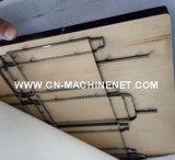 Zj1500ts-Bのカートンボックスを作る自動段ボール紙シートの平床式トレーラー型抜き機械