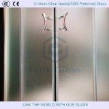 3-10mm Clear Nashiji / Obs Modelado de vidrio con ISO9001
