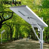 80W todo en una luz solar del LED de camino/de ahorro de la energía/de calle/de al aire libre/de jardín