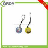 tarjeta del cristal de 13.56MHz Fudan F08 1K RFID PVC+Epoxy