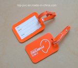 高品質のPlastic Promotional 3D PVC Luggage Tag (LT-028)