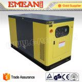 30kVA中国の最も安い価格の携帯用無声ディーゼル発電機