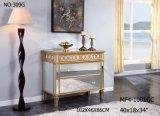 居間のための4つの引出しのキャビネットによって映される家具