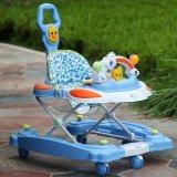 プラスチック新しいモデルの赤ん坊の歩行者が付いている回転車輪のおもちゃの演劇