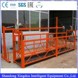 유리제 청소 Abseiling 공구를 위한 Zlp630 알루미늄에 의하여 중단되는 플래트홈