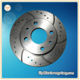 Disco do freio do aço inoxidável 304 de carcaça de investimento para o carro de competência, rotor do freio para a motocicleta