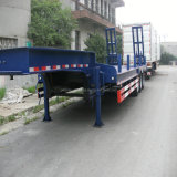 Низкое Bed Semi Trailer 3 Axles 80tons для Sale