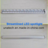 Indicatore luminoso lineare di alluminio solare del blocco per grafici LED della prova IP65 dell'acqua del tabellone per le affissioni esterno