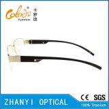 Стекел Eyeglass Eyewear способа рамка Semi-Rimless Titanium оптически (8204)