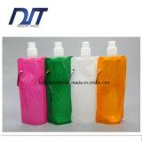 Faltbarer Wasser-Flaschen-leichter mehrfachverwendbarer faltender Wasser-Plastikbeutel