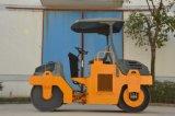 3 toneladas se doblan el rodillo de camino vibratorio del tambor (YZC3)