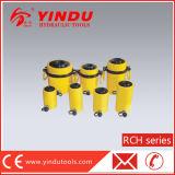 Цилиндр плунжера 60 тонн одиночный действующий гидровлический полый (RCH-60100)