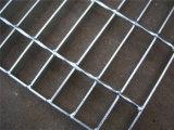 Barra de acero que ralla para el cedazo del marco de acero de la plataforma