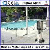 Quadratischer Zapfen mit Flansch-Deckel befestigte das 12-18mm Glas für das Pool-Fechten