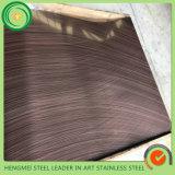 Blatt-Haarstrichsatin des Edelstahl-304 beendete für Küche-Herstellung