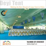 Grande tente 20X50m d'exposition pour des salons