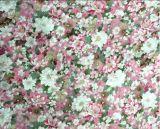 인공 면 전면 인쇄된 꽃 레이온 직물