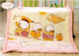 Cobertor macio super do bebê de Raschel da alta qualidade (SR-BB170301-22)