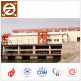 低ヘッドおよび大き容量のためのピットのタイプ管状水タービン発電機