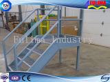 Plataforma de acero personalizada de la escalera con el certificado de Ce (SSW-S-010)