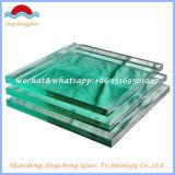 0.38-2.28の厚さPVBの中間膜が付いている4.38-80mmの構造ガラス