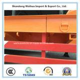 Fuwa 3개의 차축을%s 가진 확장 가능한 Lowbed 트레일러 80 톤 반 16m