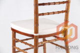 MahagoniSolid Wooden Chiavari Chair mit Chocolate Cushion