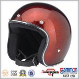 女性(OP237)のための美しいPailletteの開いた表面スクーターのヘルメット
