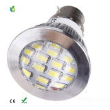 E14 E27 MR16 B22 GU10 6W 16PCS 5730SMD LED Spotlight met Car Aluminum Cup LED Spot Lights