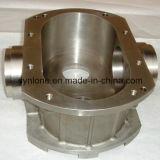 Piezas inoxidables de la pieza de acero fundido con trabajar a máquina del CNC