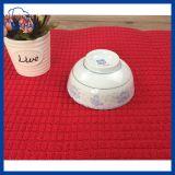 couvre-tapis de séchage de Microfiber de couleur solide de 38cm*51cm (QHAD00955)