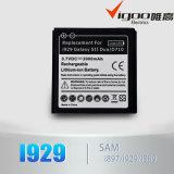 Bateria alternativa para a bateria de Nimi S5570 da galáxia de Samsung