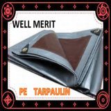Material de HDPE Folha de plástico reforçado Tarpaulin