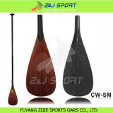 Sales caldo High Performance Wood Veneer Carbon Fiber Sup Board Paddle per Sup Surfing
