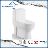 Toalete cerâmico do armário de uma peça só de Siphonic do banheiro (AT9011)