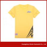 Tshirts da impressão da tela de seda da fábrica do OEM para a promoção com seu próprio logotipo (R56)