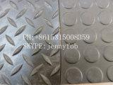 Промышленный кислотоупорный резиновый лист пола, лист резины ввода ткани