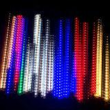 50cm 72 свет метеорного потока RGB 10tubes СИД для освещения украшения рождества напольного